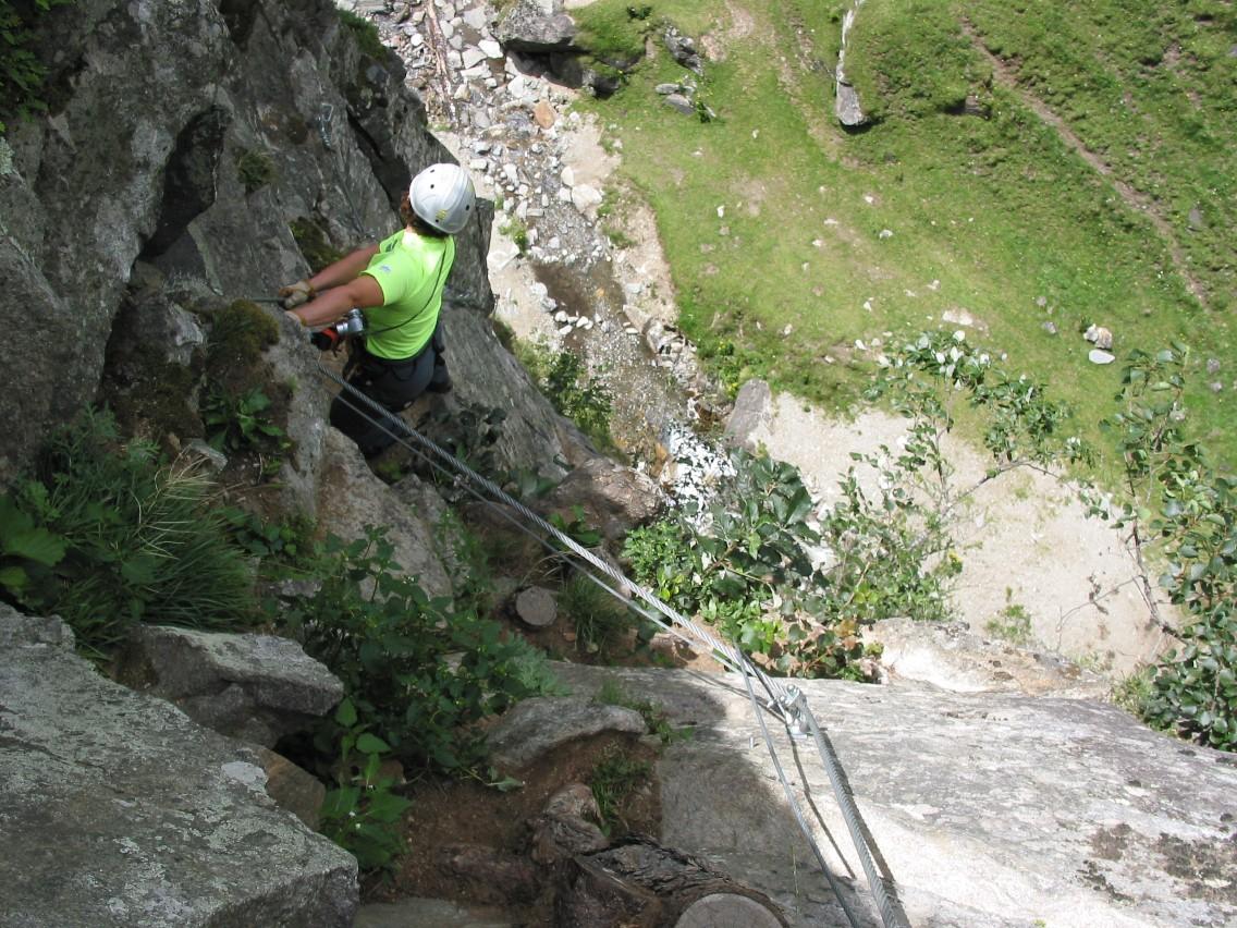 Klettersteig Fallbach : Titelseite